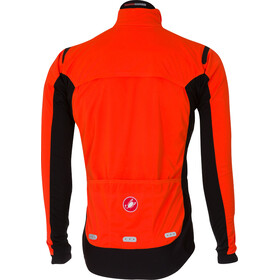 Castelli Alpha Ros Jacket Men orange/black